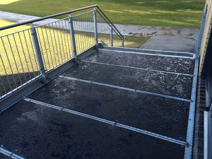 Anti-slip flat sheeting installed at Gateway Academy