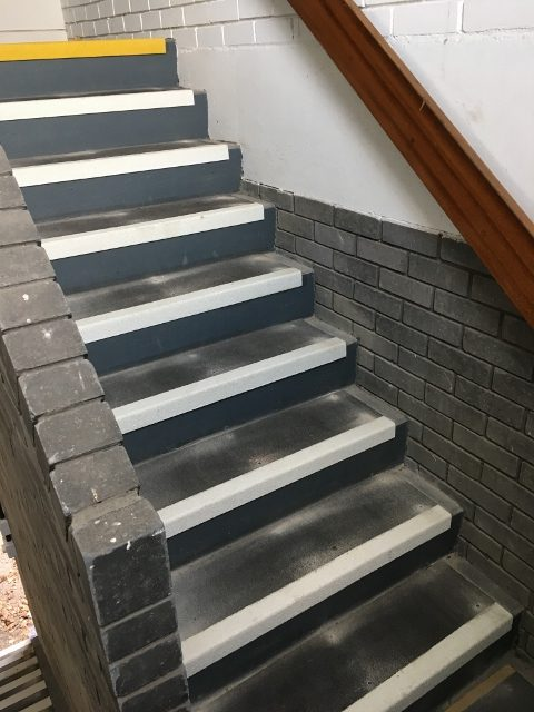 Stair Treads And Nosing. Antislip Step Covers
